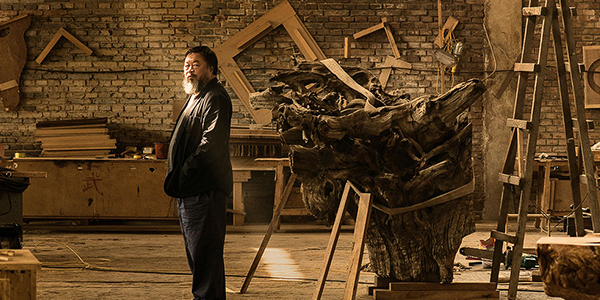 Ai WeiWei at the Royal Academy of Art, 2015